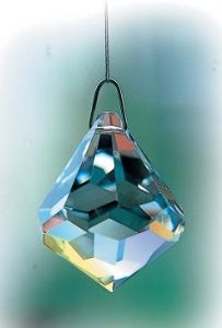Crystal~Bell 30 Clear Swarovski Hanging  Rainbow Crystal. Rainbow-A stunning array of dancing light